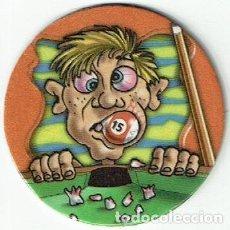 Juguetes antiguos y Juegos de colección: COLECCIÓN TAZOS ASKI CAPS BY FAUSTIN BROS TAZO CAPS POGS 1 TRAGABOLAS DESDENTADO 5 POINTS. Lote 197328980