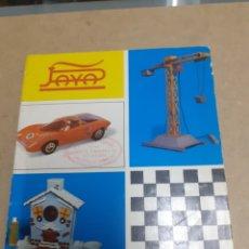 Giocattoli antichi e Giochi di collezione: TARIFA PRECIOS PAYA 1972 ENVÍO INCLUIDO. Lote 197510098