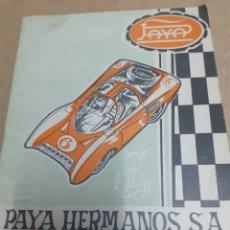 Giocattoli antichi e Giochi di collezione: TARIFA PRECIOS PAYA 1971 ENVIO INCLUIDO. Lote 197510233