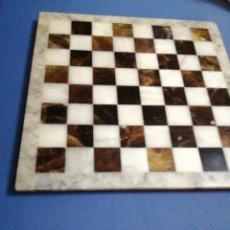 Juguetes antiguos y Juegos de colección: AJEDREZ DE MÁRMOL??. Lote 198239867