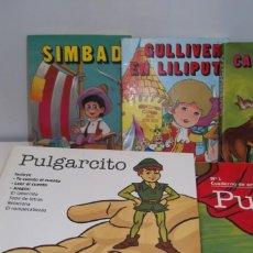 Juguetes antiguos y Juegos de colección: · # CUENTOS CLASICOS , BLANCANIEVES,CAPERUCITA,PULGARCITO... #. Lote 198892852