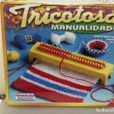 Juguetes antiguos y Juegos de colección: TRICOTOSA JUEGO DE MANUALIDADES DINO A SIN ESTRENAR . Lote 198931317