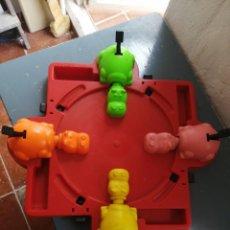 Juguetes antiguos y Juegos de colección: TRAGABOLAS HIPOPOTAMOS SIN BOLAS BREKAR MADE IN SPAIN. Lote 200004673