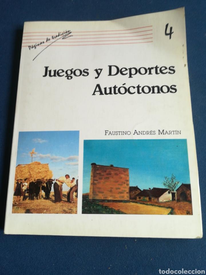 JUEGOS Y DEPORTES AUTÓCTONOS FAUSTINO ANDRÉS MARTÍN SALAMANCA 1987 (Juguetes - Varios)