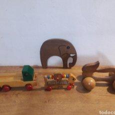 Brinquedos antigos e Jogos de coleção: JUGETES DE MADERA. Lote 201684763