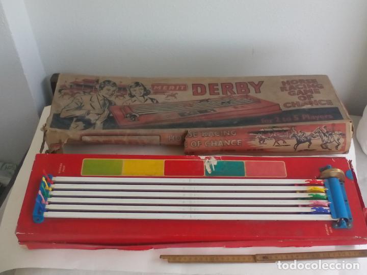 antiguo juego de carreras de caballos. derby. m - Comprar ...