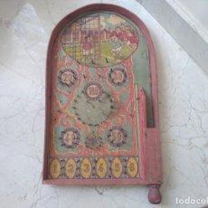 Juguetes antiguos y Juegos de colección: ESPECTACULAR Y ANTIGUO JUEGO PINBALL PRINCIPIOS AÑOS 1900. Lote 202535501