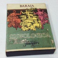 Juguetes antiguos y Juegos de colección: CAJA BARAJA MITOLÓGICA ESPAÑOLA (SOLO CAJA). Lote 202831980