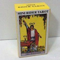 Juguetes antiguos y Juegos de colección: MINI BARAJA TAROT. Lote 202831996