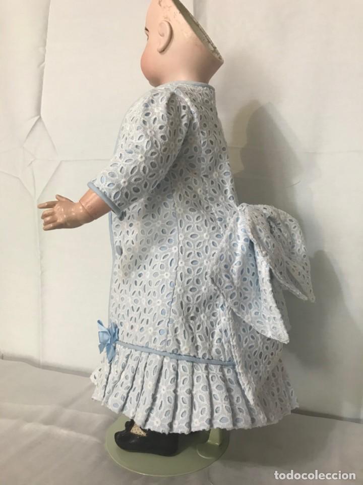 Juguetes antiguos y Juegos de colección: Vestido Muñeca Francesa Antigua Jumeau nº 10 - Foto 3 - 39273356