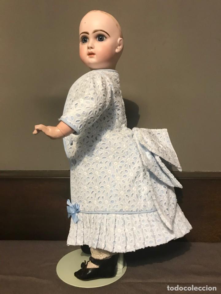 Juguetes antiguos y Juegos de colección: Vestido Muñeca Francesa Antigua Jumeau nº 10 - Foto 11 - 39273356