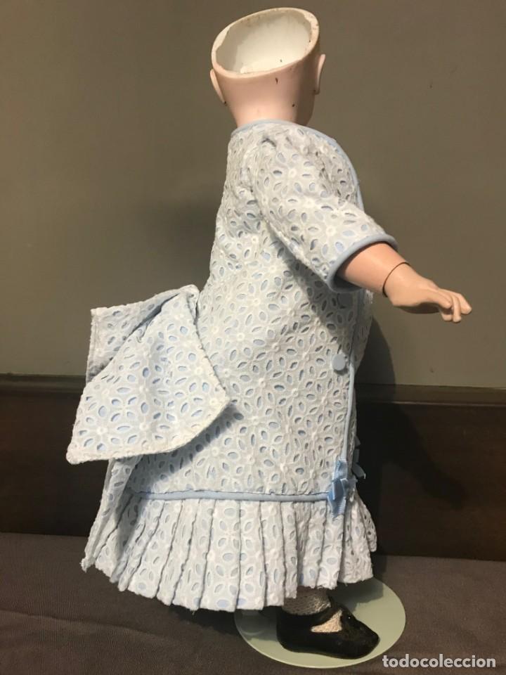 Juguetes antiguos y Juegos de colección: Vestido Muñeca Francesa Antigua Jumeau nº 10 - Foto 13 - 39273356