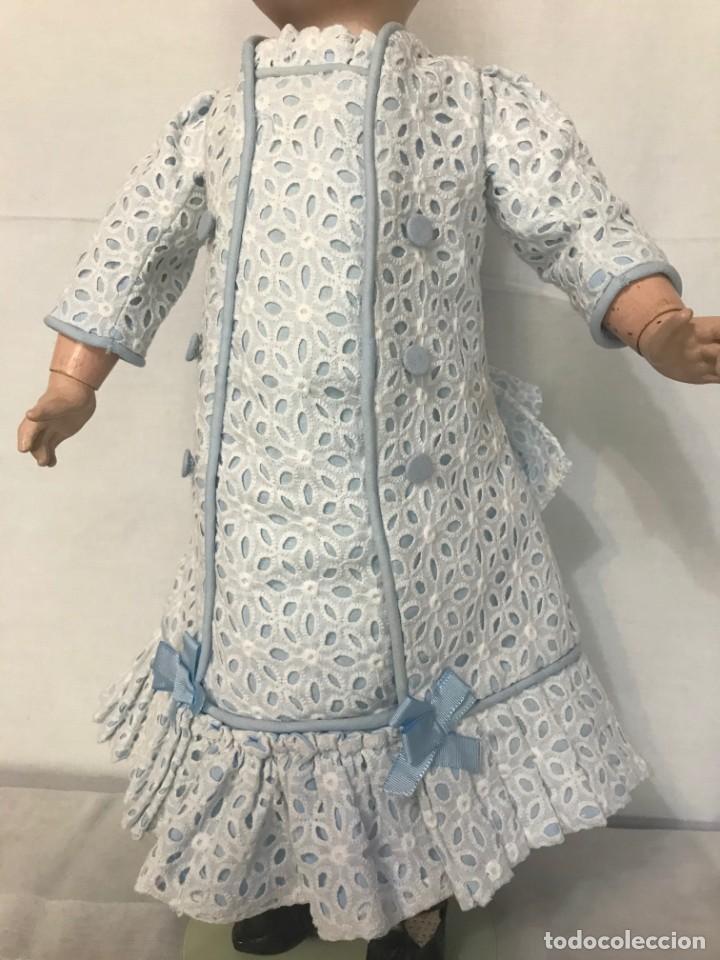 VESTIDO MUÑECA FRANCESA ANTIGUA JUMEAU Nº 10 (Juguetes - Vestidos y Accesorios Muñeca Extranjera Antigua)