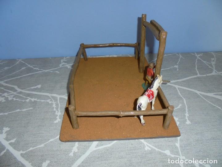 Juguetes antiguos y Juegos de colección: magnifica maqueta artesanal para comansi o playmobil cuadra caballos - Foto 4 - 203782927