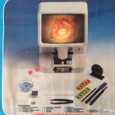 Juguetes antiguos y Juegos de colección: VIDEOSCOPIO SET, 20X-50X, EN SU CAJA ORIGINAL SIN USO 57 PIEZAS. Lote 205367647