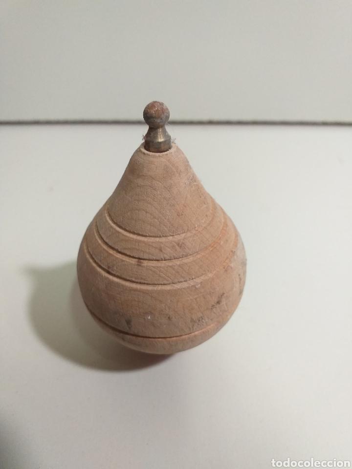 Juguetes antiguos y Juegos de colección: Antigua Peonza madera años 70 - Foto 2 - 205529476