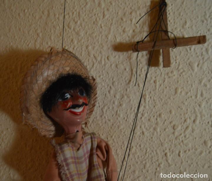 Juguetes antiguos y Juegos de colección: MARIONETA - MEXICANO - PAPEL MACHÉ , TELA Y MADERA - Foto 8 - 205577423