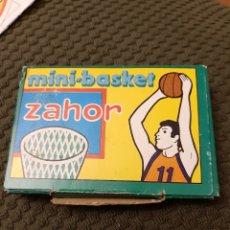 Juguetes antiguos y Juegos de colección: MINI BASKET ZAHOR NUEVO COMPLETO. Lote 205602832