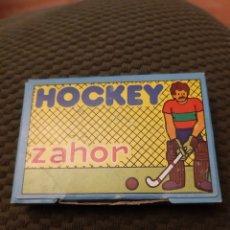 Juguetes antiguos y Juegos de colección: HOCKEY ZAHOR NUEVO COMPLETO NO CROPAN. Lote 205604276