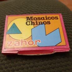 Juguetes antiguos y Juegos de colección: MOSAICOS CHINOS ZAHOR COMPLETO NUEVO. Lote 205604506