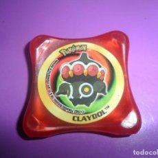 Juguetes antiguos y Juegos de colección: ANTIGUO TAZO POKEMON WAPS - CLAYDOOL - 2003 PANINI-NINTENDO. Lote 205687091