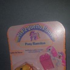 Juguetes antiguos y Juegos de colección: MI PEQUEÑO PONY PONY RAMITOS COPITO DE NIEVE AÑO 1990. Lote 205693473