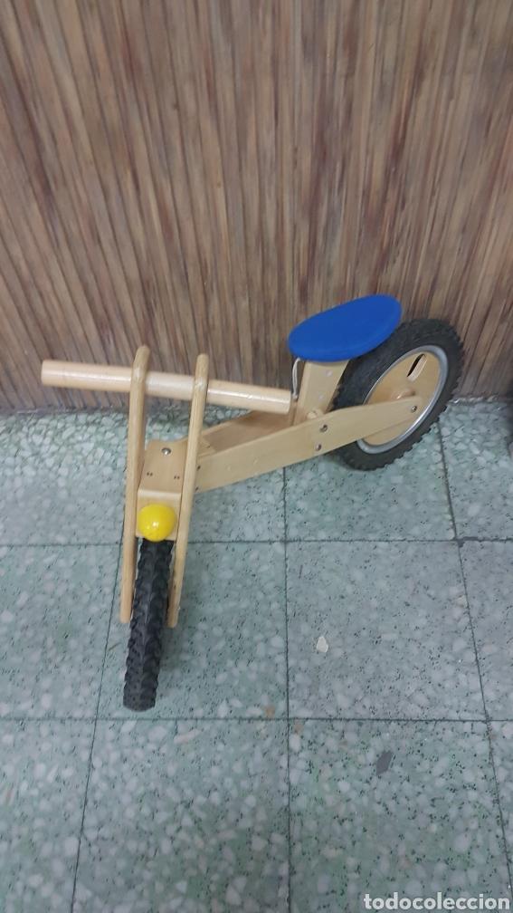Juguetes antiguos y Juegos de colección: Bicicleta madera niño - Foto 2 - 206290126