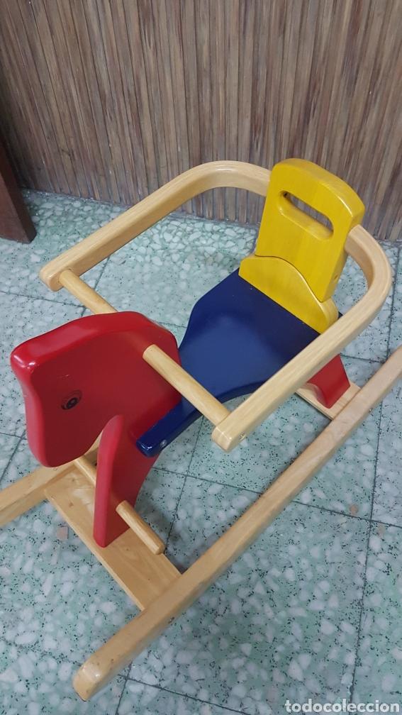 Juguetes antiguos y Juegos de colección: Caballo balancin - Foto 3 - 206290332