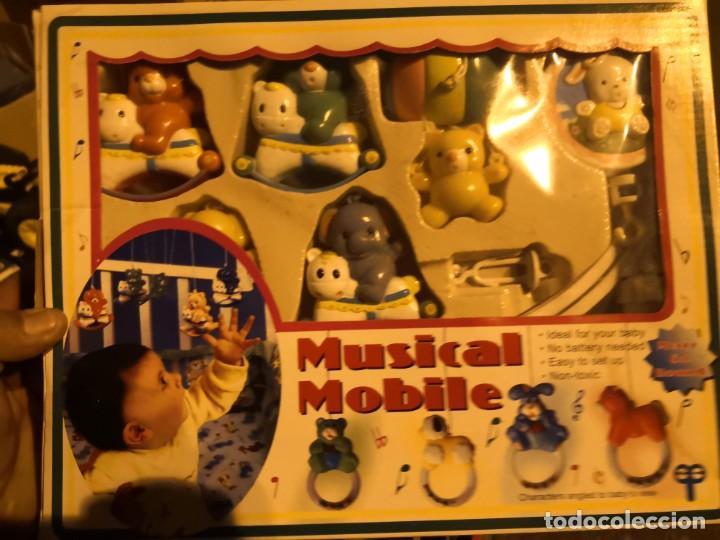 Juguetes antiguos y Juegos de colección: NORIA INFANTIL PARA CUNA BEBE willy play MOVIL, Mobil MUSICAL a cuerda . - Foto 2 - 206943513