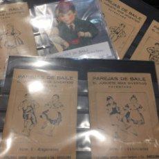Juguetes antiguos y Juegos de colección: CONJUNTO JUGUETE MÁS DIVERTIDO 6 PAREJAS DE BAILE. Lote 207178673