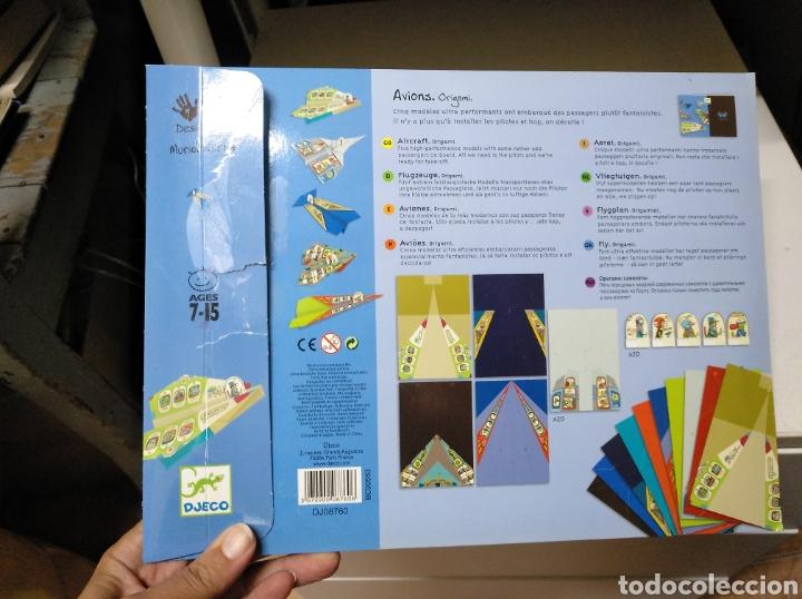 Juguetes antiguos y Juegos de colección: Origami. Aviones. - Foto 3 - 207705513