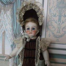 Brinquedos antigos e Jogos de coleção: CONJUNTO DE ESTILO FRANCÉS PARA MIGNONETTE EN SEDA NATURAL Y ENCAJES, HECHO A MANO. Lote 207808763