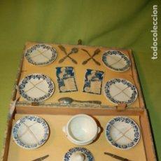 Juguetes antiguos y Juegos de colección: VAJILLA FRANCESA EN CAJA. Lote 208418008