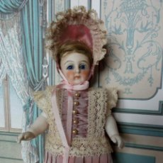 Brinquedos antigos e Jogos de coleção: CONJUNTO DE ESTILO FRANCÉS PARA MIGNONETTE EN SEDA NATURAL Y ENCAJES, HECHO A MANO. Lote 208814425