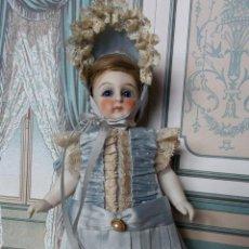 Brinquedos antigos e Jogos de coleção: CONJUNTO DE ESTILO FRANCÉS PARA MIGNONETTE EN SEDA NATURAL Y ENCAJES, HECHO A MANO. Lote 208814580