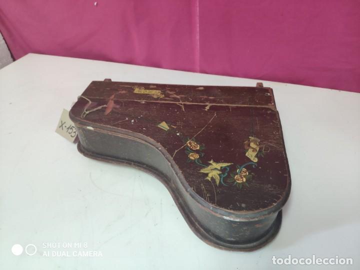 Juguetes antiguos y Juegos de colección: PIANA DE JUGUETE EN MADERA - XXX 153 - Foto 5 - 42979349
