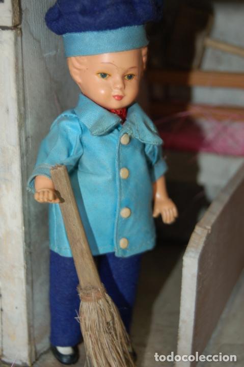 Juguetes antiguos y Juegos de colección: establo de muñecas alemán antiguo - Foto 3 - 210667346