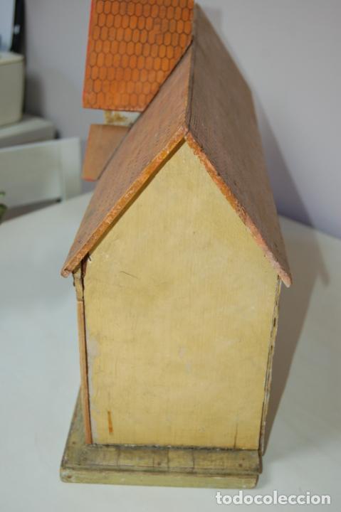 Juguetes antiguos y Juegos de colección: establo de muñecas alemán antiguo - Foto 8 - 210667346