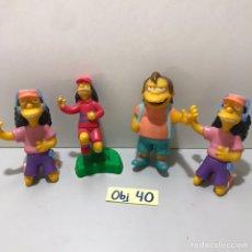 Juguetes antiguos y Juegos de colección: LOTE DE MUÑECOS DE LOS SIMPSON. Lote 212531088