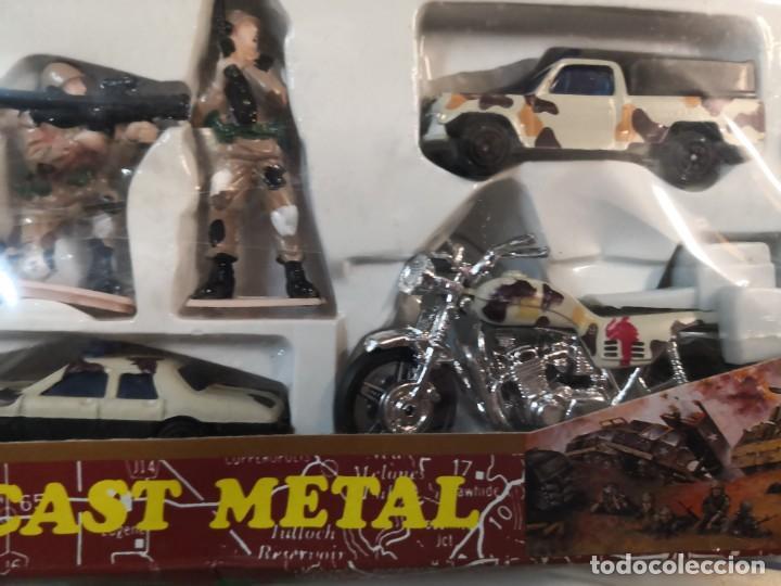 Juguetes antiguos y Juegos de colección: Set juguete modelo militar army force plástico - Foto 3 - 213255013