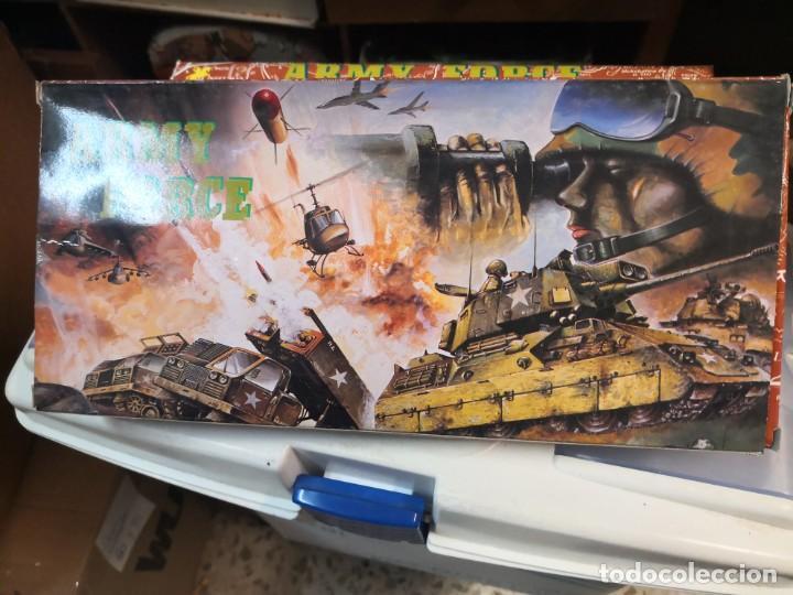 Juguetes antiguos y Juegos de colección: Set juguete modelo militar army force plástico - Foto 4 - 213255013