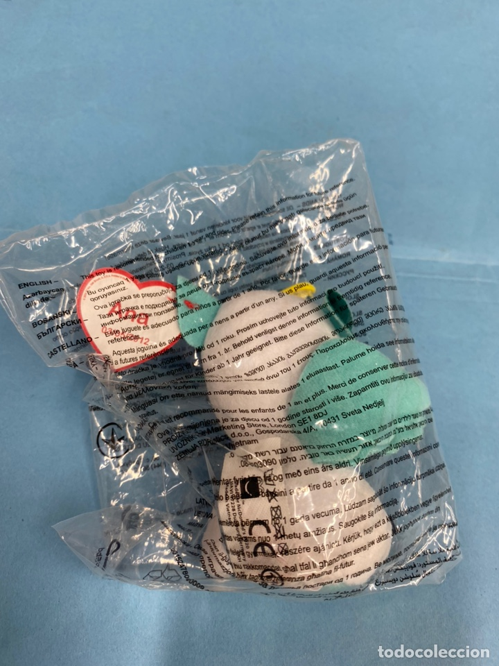 Juguetes antiguos y Juegos de colección: Figura muñeco peluche gatito volador blanco. TY beanie boos. Happy Meal. Ana - Foto 2 - 213324025