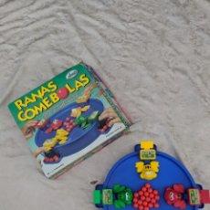 Juguetes antiguos y Juegos de colección: JUEGO TRAGABOLAS RANAS COMEBOLAS IMC. Lote 95405743