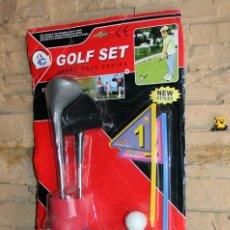Brinquedos antigos e Jogos de coleção: SET DE GOLF INFANTIL - NUEVO A ESTRENAR. Lote 213775291