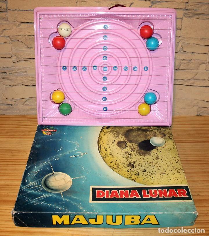 ANTIGUA DIANA LUNAR DE MAJUBA - COMPLETA - AÑOS 60/70 (Juguetes - Varios)