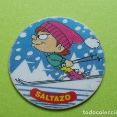 Giocattoli antichi e Giochi di collezione: TAZO Nº 4 MONTANA MAX - SALTAZO - WARNER BROS - MATUTANO. Lote 214649601