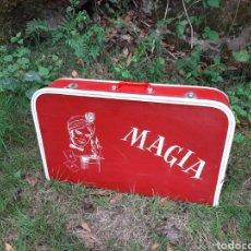 Juguetes antiguos y Juegos de colección: MALETÍN DE MAGIA N°5 - BORRÁS - MAGO - JUGUETERÍA BLAS LATRE - ZARAGOZA - AÑOS 50-60. Lote 214796570