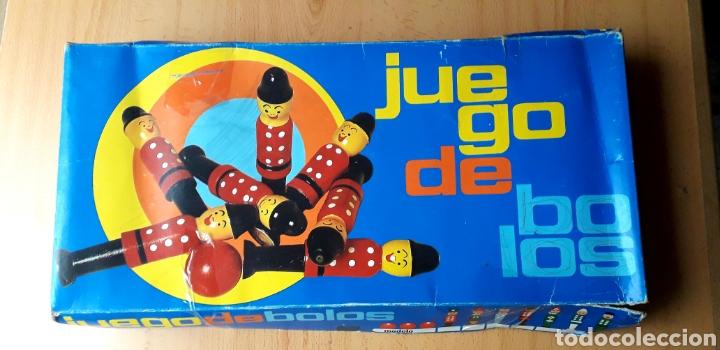 Juguetes antiguos y Juegos de colección: JUEGO DE BOLOS TORNERÍA CONSTANSÓ TORELLÓ BARCELONA - Foto 3 - 215022457