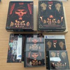 Juguetes antiguos y Juegos de colección: JUEGO ORDENADOR PC DIABLO II Y EXPANSIÓN LORD OF DESTRUCTION (EXPANSION SET). Lote 215469013