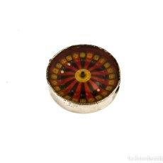 Juguetes antiguos y Juegos de colección: BV-PARÍS - ANTIGUA RULETA MECANISMO AUTOMÁTICO -JUEGO AZAR DADOS POKER- PRINCIPIOS SXX. Lote 262820200